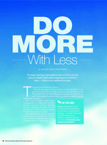CLO - Do More with Less 2